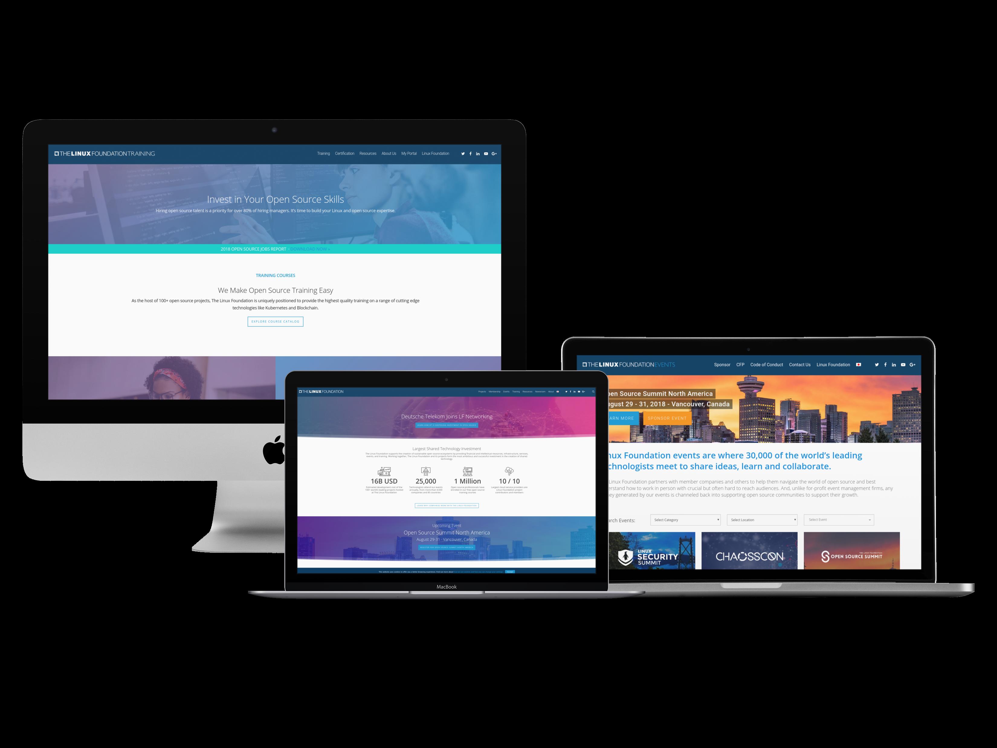 Linux Foundation Core Sites